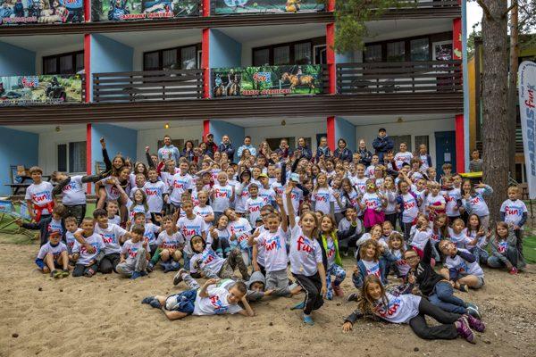 uczestnicy obozowi